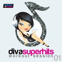 Various Artists - Diva Superhits Workout Session 01 (130-140 BPM Mixed Workout Music Ideal For Mid-Tempo)