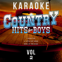Karaoke - Ameritz - Karaoke - Country Hits for Boys, Vol. 2
