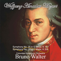 Bruno Walter - Mozart: Symphony No. 25 in G Minor, K 183 - Symphony No. 28 in C Major, K 200