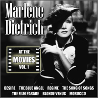 Marlene Dietrich - At the Movies, Vol. 1