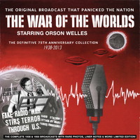 Orson Welles - War of the Worlds - The Definitive 75th Anniversary Collection 1938-2013