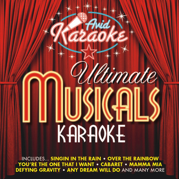 AVID Professional Karaoke - Ultimate Musicals Karaoke (Professional Backing Track Version)