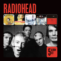 Radiohead - 5 Album Set [Pablo Honey/The Bends/OK Computer/Kid A/Amnesiac] (Explicit)