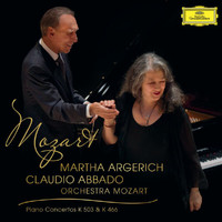Martha Argerich - Mozart: Piano Concerto No.25 In C Major K.503;  Piano Concerto No.20 In D Minor K.466 (Live)