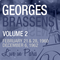 Georges Brassens - Live in Paris, Vol. 2 - Georges Brassens