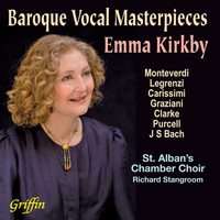 Emma Kirkby - Baroque Vocal Masterpieces