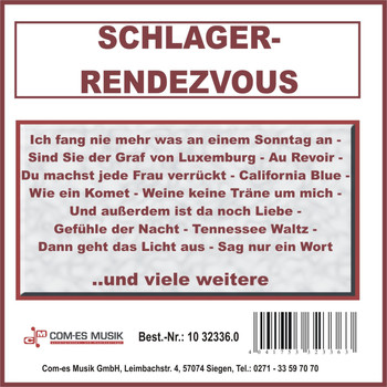 Various Artists - Schlager-Rendezvous