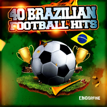 Various Artists - 40 Brazilian Football Hits