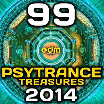 Various Artists - Psy Trance Treasures 2014 - 99 Best of Top Full-on, Progressive & Psychedelic Goa Hits