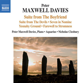 "Peter Maxwell Davies / Aquarius / Nicholas Cleobury - Peter Maxwell Davies: Suite from ""The Boyfriend"", Suite from ""The Devils"" & Other Works"