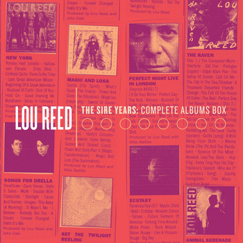 Lou Reed - The Sire Years: The Solo Collection (Explicit)