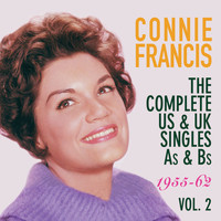 Connie Francis - The Complete Us & Uk Singles As & BS 1955-62, Vol. 2