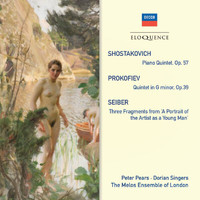 Sir Peter Pears - Shostakovich: Piano Quintet; Prokofiev: Quintet In G Minor; Seiber: Three Fragments