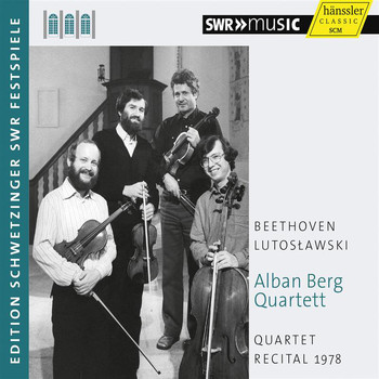Alban Berg Quartet - Quartet Recital 1978