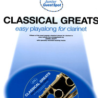 The Backing Tracks - Easy Playalong for Clarinet: Classical Greats