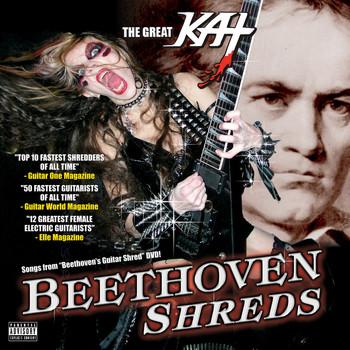 Great Kat - Beethoven Shreds