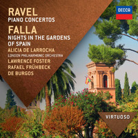 Alicia de Larrocha - Ravel:  Piano Concertos; Falla: Nights In The Gardens Of Spain