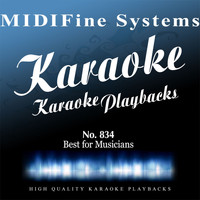 MIDIFine Systems - Best for Musicians No. 834 (Karaoke Version)