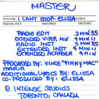 Elissa - I Can't Stop: The Masters