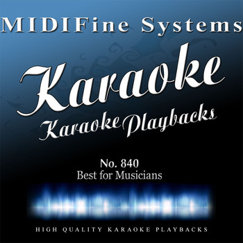 MIDIFine Systems - Best for Musicians No. 840 (Karaoke Version)