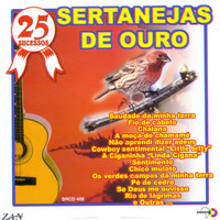 Various Artists - 25 Sucessos: Sertanejas de Ouro