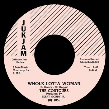 The Contours - Whole Lotta Woman / Regional Version