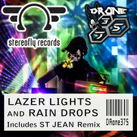 Drone375 - Lazer Lights and Rain Drops