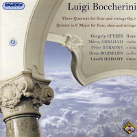 Gergely Ittzés / Peter Barsony / Ditta Rohmann / Laszlo Hadady - Boccherini: 3 Quartets for flute and strings, Op. 5 - Quintet in C major for flute, oboe and strings