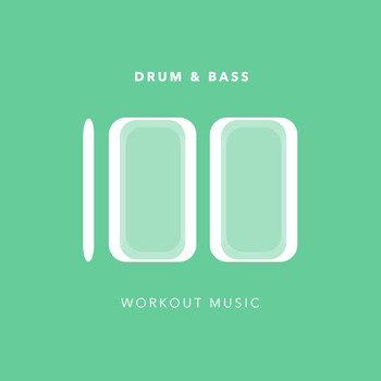 Various Artists - 100 Drum and Bass Workout Music (Explicit)