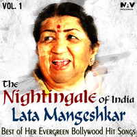 Lata Mangeshkar - The Nightingale of India Lata Mangeshkar Best of Her Evergreen Bollywood Hindi Hits Songs, Vol. 1