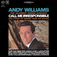 Andy Williams - Call Me Irresponsible