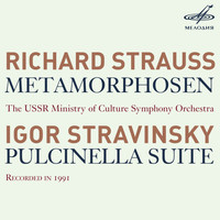 USSR Ministry of Culture Symphony Orchestra - R. Strauss: Metamorphosen - Stravinsky: Pulcinella Suite