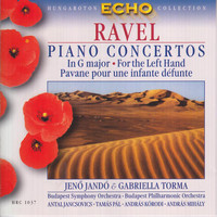 Jeno Jandó - Ravel: Piano Concerto in G Major / Piano Concerto for the Left Hand / Introduction Et Allegro