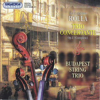 Budapest String Trio - Rolla: 6 Trio Concertantes, Op. 1 (Complete)