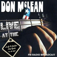 Don McLean - Live at the A&R Studio's, New York, 28.12.1971 (Fm Radio Broadcast)