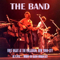 The Band - First Night at the Palladium, New York City, 18.9.1976 - Wnew FM Radio Broadcast