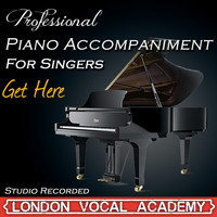 London Vocal Academy - Get Here ('Oleta Adams' Piano Accompaniment) [Professional Karaoke Backing Track]