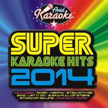 AVID Professional Karaoke - Super Karaoke Hits 2014 (Professional Backing Track Version)