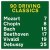 90 Driving Classics with Mozart, Chopin & Bach by Wolfgang Amadeus Mozart