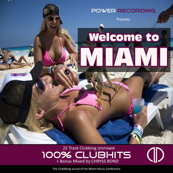 Various Artists - Welcome to Miami (The Clubbing Sound of the Miami Music Conference) [8th Anniversary Edition 100% ClubHits]