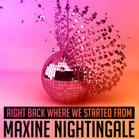 Maxine Nightingale - Right Back Where We Started From - Single