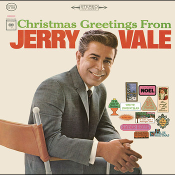 Jerry Vale - Christmas Greetings from Jerry Vale