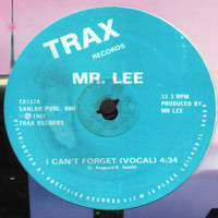 Mr. Lee - I Can't Forget