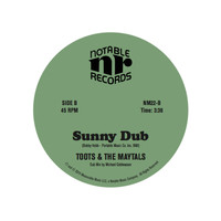 Toots & The Maytals - Sunny Dub