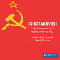 Mstislav Rostropovich - Shostakovich: Cello Concerto No. 1 and Violin Concerto No. 1