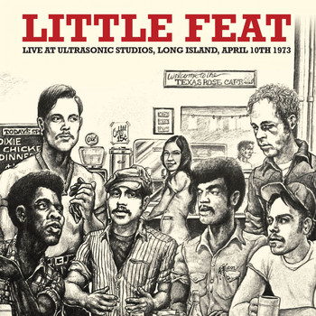 Little Feat - Live at Ultrasonic Studios, Long Island, April 1973. FM Radio Concert Broadcast (Remastered)