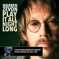 Warren Zevon - Play It All Night Long - Live FM Radio Broadcast Concert from the Metro, Boston MA USA. 1982 (Remas