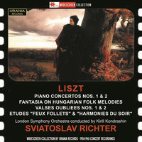Sviatoslav Richter - Liszt: Works for Piano & Orchestra