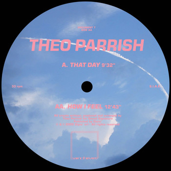 Theo Parrish - That Day / How I Feel