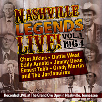 Various Artists - Nashville Legends Live, Vol. 1 - 1964